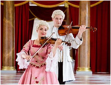 Bild Berliner Residenz Konzerte Schloß Charlottenburg