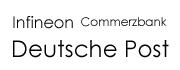 Infineon Commerzbank Deutsche Post