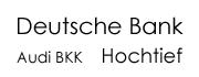 Deutsche Bank Audi BKK Hochtief